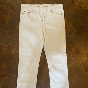 Women Tommy Hilfiger white skinny jeans
